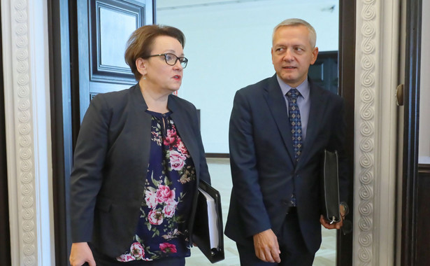 Anna Zalewska i Marek Zagórski