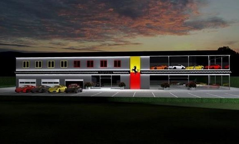 warszawa salon Ferrari