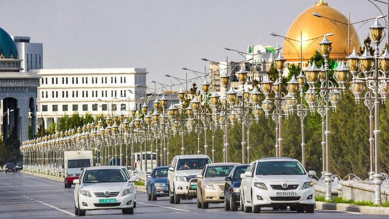 Ulica w Aszchabadzie