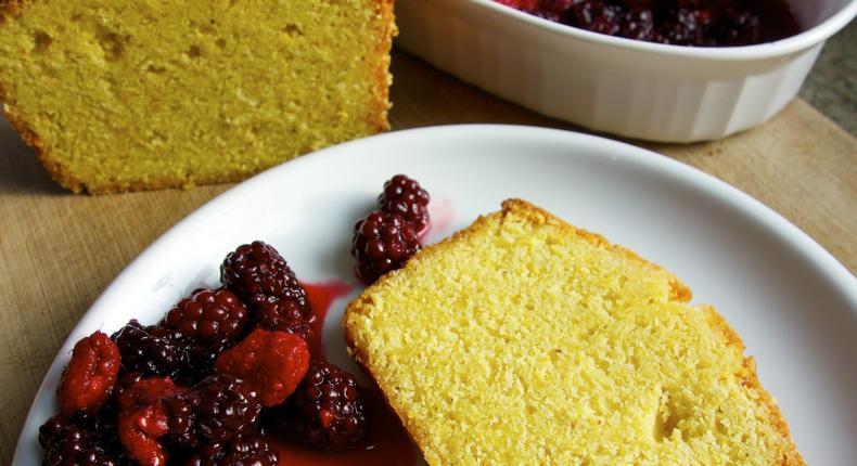 Celebrate Breakfast With Zesty Polenta Cake