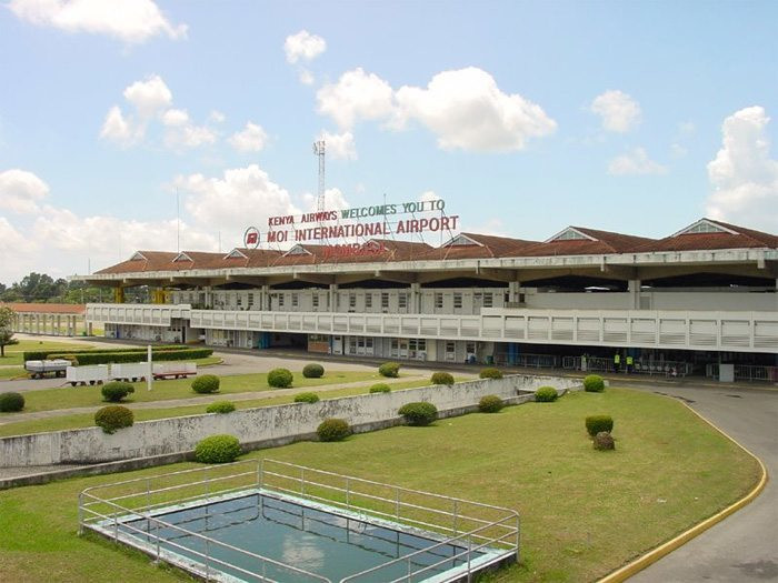 Moi International Airport Mombasa.