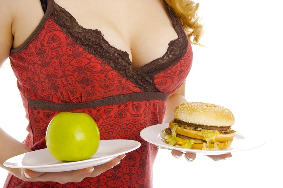 Как похудеть но увеличить грудь