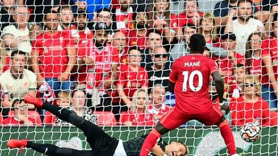 African players in Europe: 100-goal Mane punishes Palace again