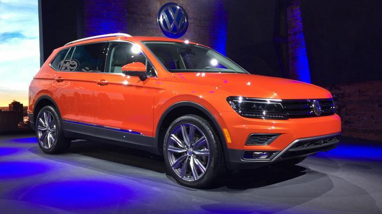 VW Tiguan – Detroit 2017