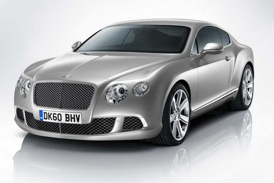 Bentley Continental GT po faceliftingu