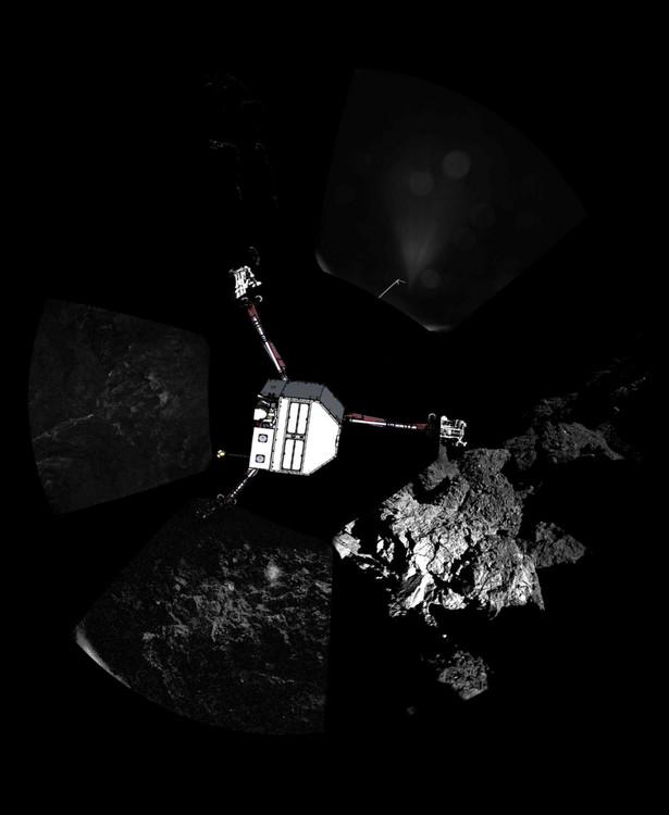 Sonda Philae, badająca kometę 67P Czuriumow - Gierasimienko