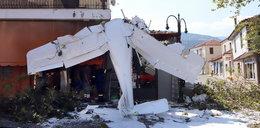 Katastrofa samolotu w Grecji. Za sterami siedział 19-latek