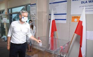 Na kogo w drugiej turze głosowali wyborcy Bosaka, Hołowni i Biedronia? [Exit Poll Ipsos]