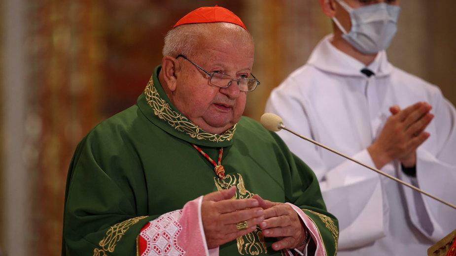 Arcybiskup senior archidiecezji krakowskiej kard. Stanisław Dziwisz