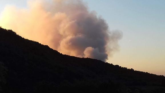Dim koji se juče video iz Vinče
