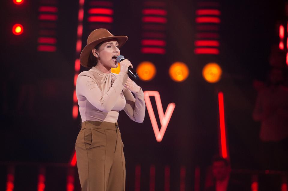 "Anna Malek w ""The Voice of Poland 11"""