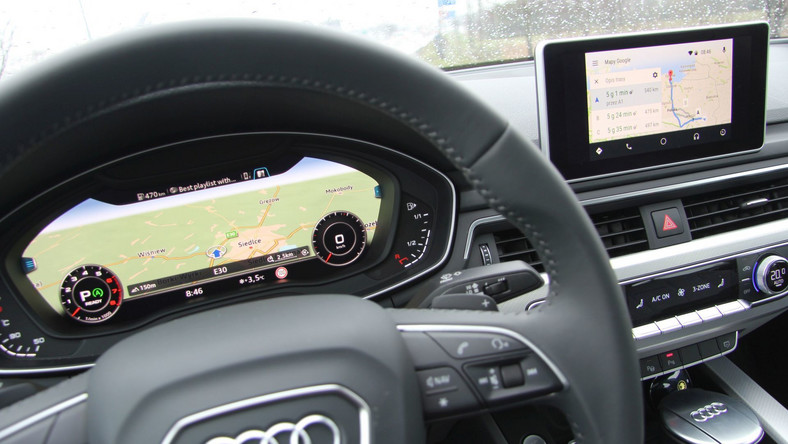 Test: Audi MMI, Connect i Android Auto w nowym A4
