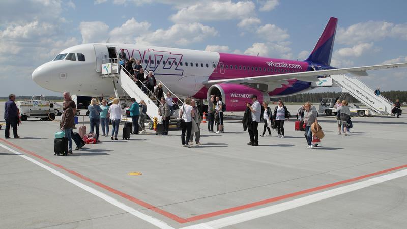 Wizz Air będzie latać z lotniska Olsztyn-Mazury do Dortmundu