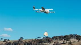 Drony Project Wing dostarczają leki i jedzenie na wynos