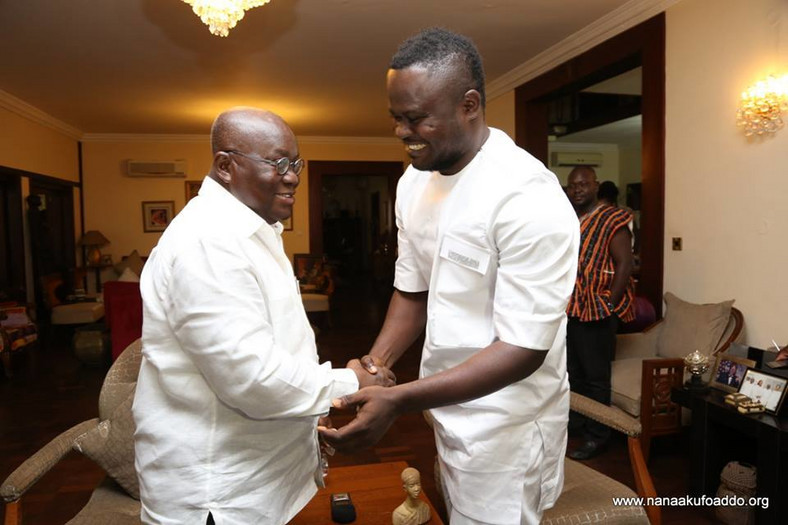 Cwesi Oteng and Nana Addo in the lead up to the 2016 elections