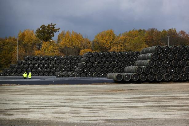 Nord Stream 2 Photograph: Alex Kraus/Bloomberg