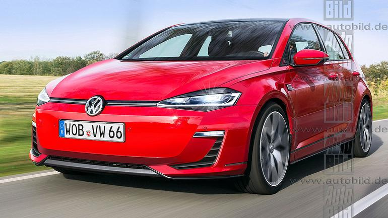 Volkswagen Golf VIII - wizualizacja