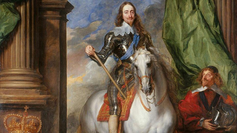 Konny portret angielskiego króla, Karola I, 1633 r.
