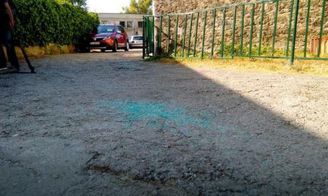 Mesto ubistva Nika Roganovića