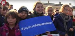 Komorowski wykorzystał dzieci w kampanii?