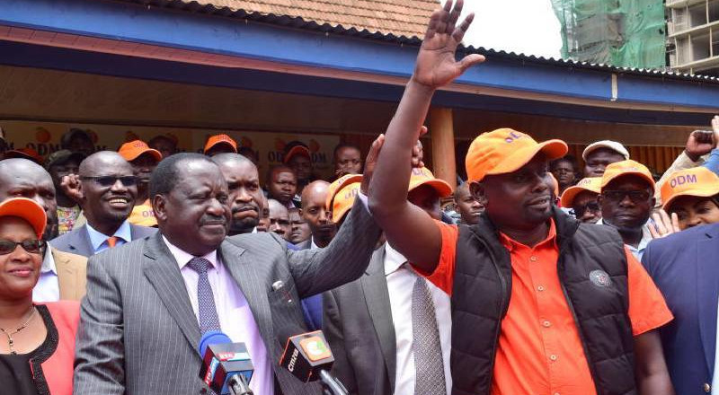 Imran Okoth's message after being declared Kibra MP-elect