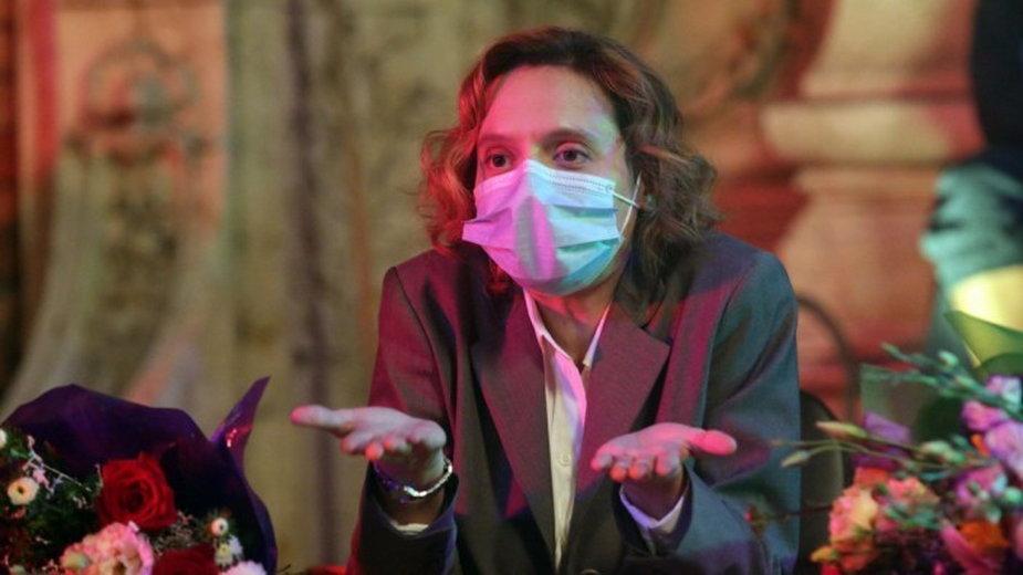 """Katia Pascariu w filmie """"Niefortunny numerek lub szalone por*o"""""""