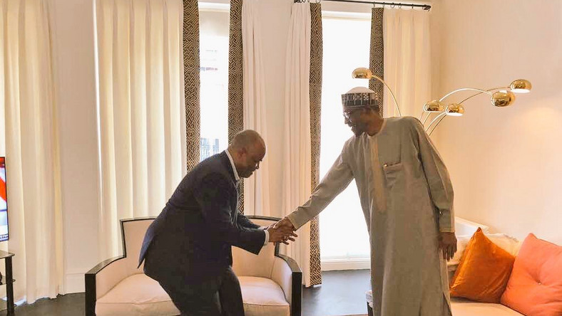 Godswill Akpabio dumped the PDP for the APC last year and is one of President Muhammadu Buhari's most vocal supporters