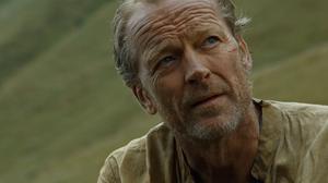 "Iain Glen jako Jorah Mormont w serialu ""Gra o tron"""