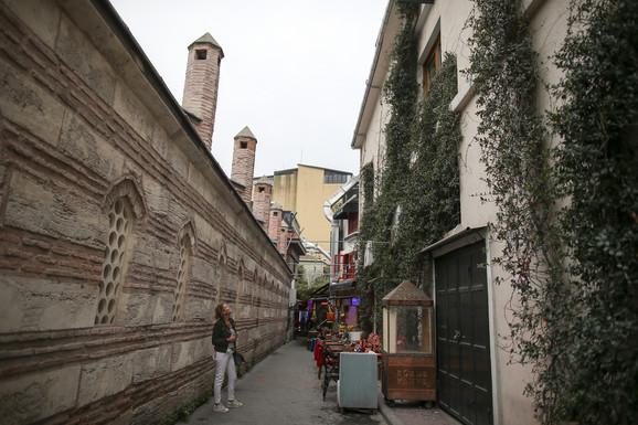 Kuća Le Mezurijeovih ispred koje je nađeno njegovo telo