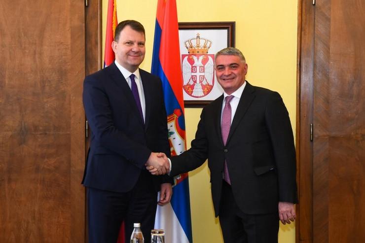 Poseta ambasadora Jermenije