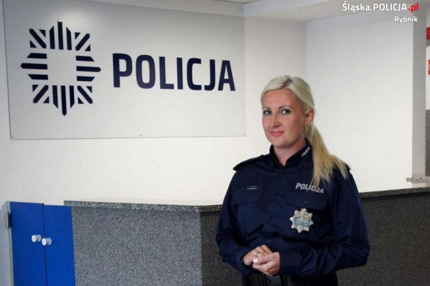 Bogusława Kobeszko, rzecznik policji w Rybniku