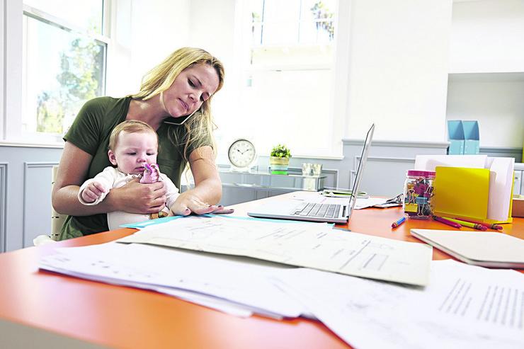 posao majka i beba pokrivalica