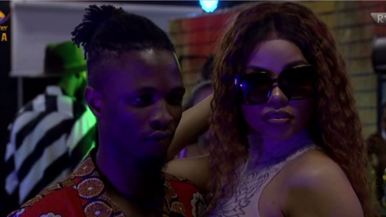 housemates Laycon and Nengi [Twitter/@bbnaija]