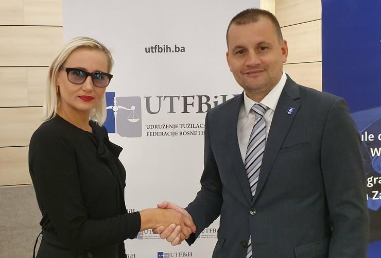 Šeila Heljić i Nenad Stefanović