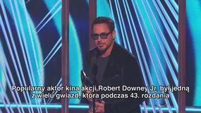 Wręczono People's Choice Awards 2017