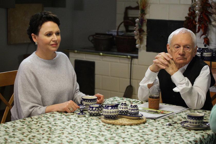 Witold Pyrkosz i Małgorzata Pieńkowska