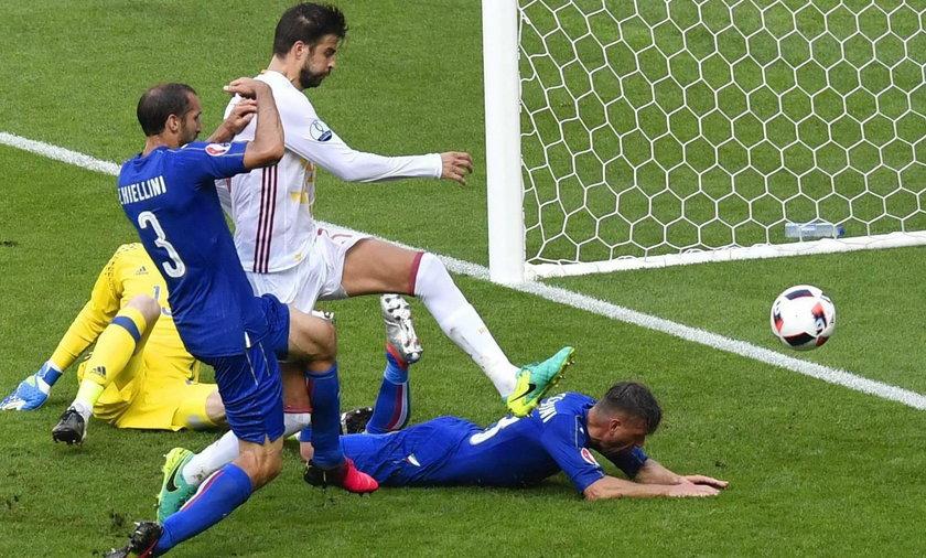 Włochy Hiszpania EURO 2016