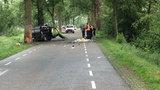 Wypadek polskiego busa w Holandii. Z auta została miazga