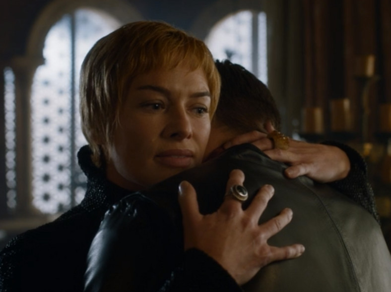 Jaime Lannister reunited with Queen Cersei after killing Euron. [HBO]