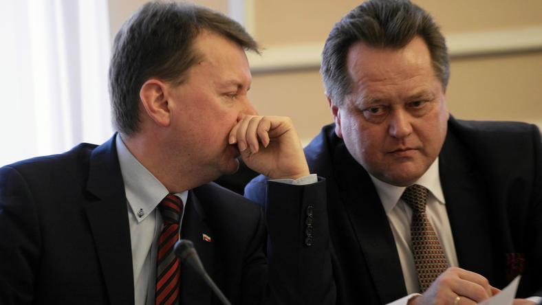 Mariusz Błaszczak i Jarosław Zieliński