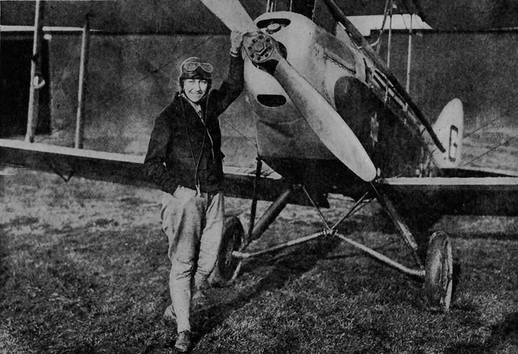 Ejmi Džonson prva žena pilot