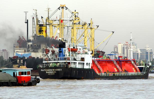 Gazowiec LNG. Fot. Bloomberg