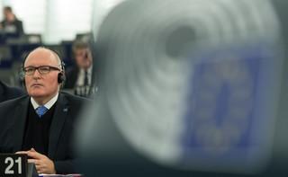 Timmermans: Mam nadzieję na rozwiązanie ws. praworządności w ciągu kilku tygodni