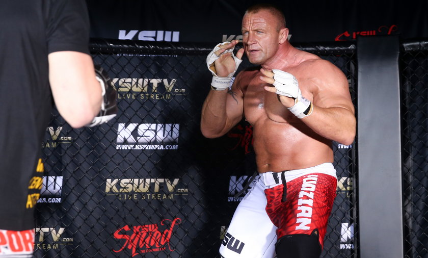 Mariusz Pudzianowski walczy dziś na gali KSW.