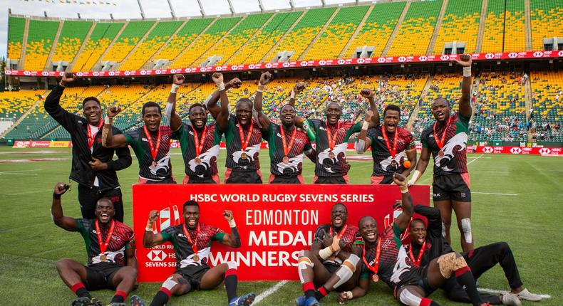 In their final fixture of the 2021 season, Kenya 7s finish third at the Edmonton 7s after thrashing hosts Canada 33-14 in the Bronze medal match.