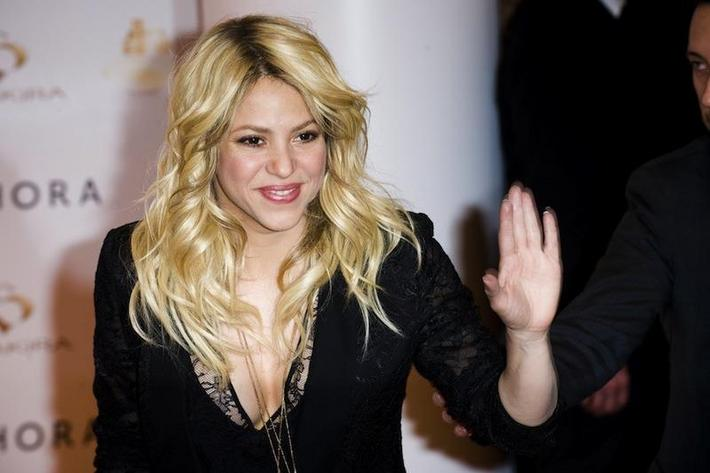 CELEBRITY : Shakira introduces her news Fragrance - 03/28/2013