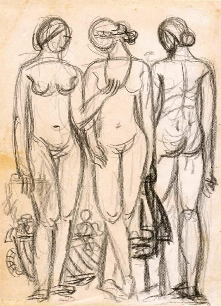 85671_kusreten-stojanovic--skica-za--ogrlicu-1937-spomenzbirka-pavla-beljanskog