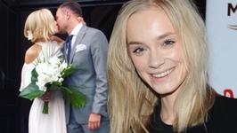 """Kasia Smolińska z """"Top Model"""" już po ślubie. Ależ miała piękną suknię!"""