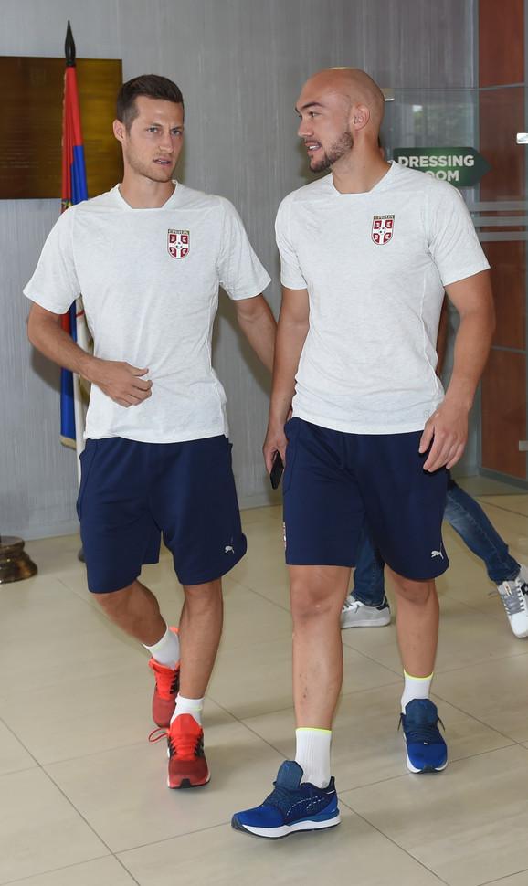 Uroš Spajić i Marko Dmitrović