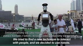 Robot-policjant rozpoczął służbę w Dubaju
